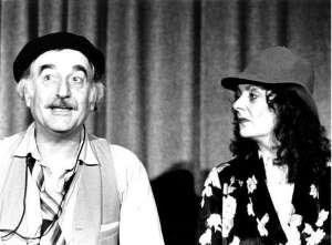 Ruth Oswald und Gerd Imbsweiler vom Theater Spielkischte