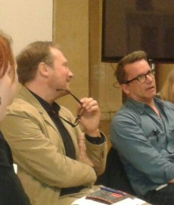 Playrights Forum: Stefan Fischer-Fels und Ulrich Hub