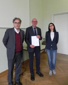 Prof. Dr. Hans-Heino Ewers, Prof. Dr. Gerd Taube, Prof. Cecilia Poletto