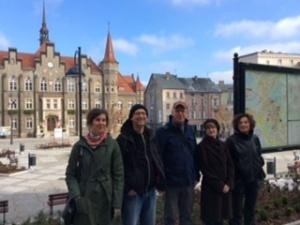 Daniela Dröscher, Carsten Brandau, Michael Müller, Kathi Loch und Barbara Kantel (von links nach rechts) Foto: Henning Fangauf