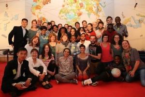 Next Generation-Gruppe beim ASSITEJ Artistic Gathering 2015