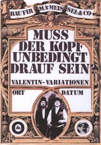 Valentin-Variationen / Straßenaktion © Baufirma Meissel & Co.