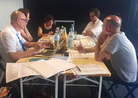 Sitzung der Kuratoren in Stuttgart