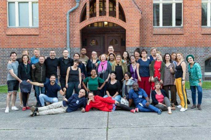 DIRECTORS IN TYA 2019 Foto Gudrun Arndt Theater Strahl Group Pic 2